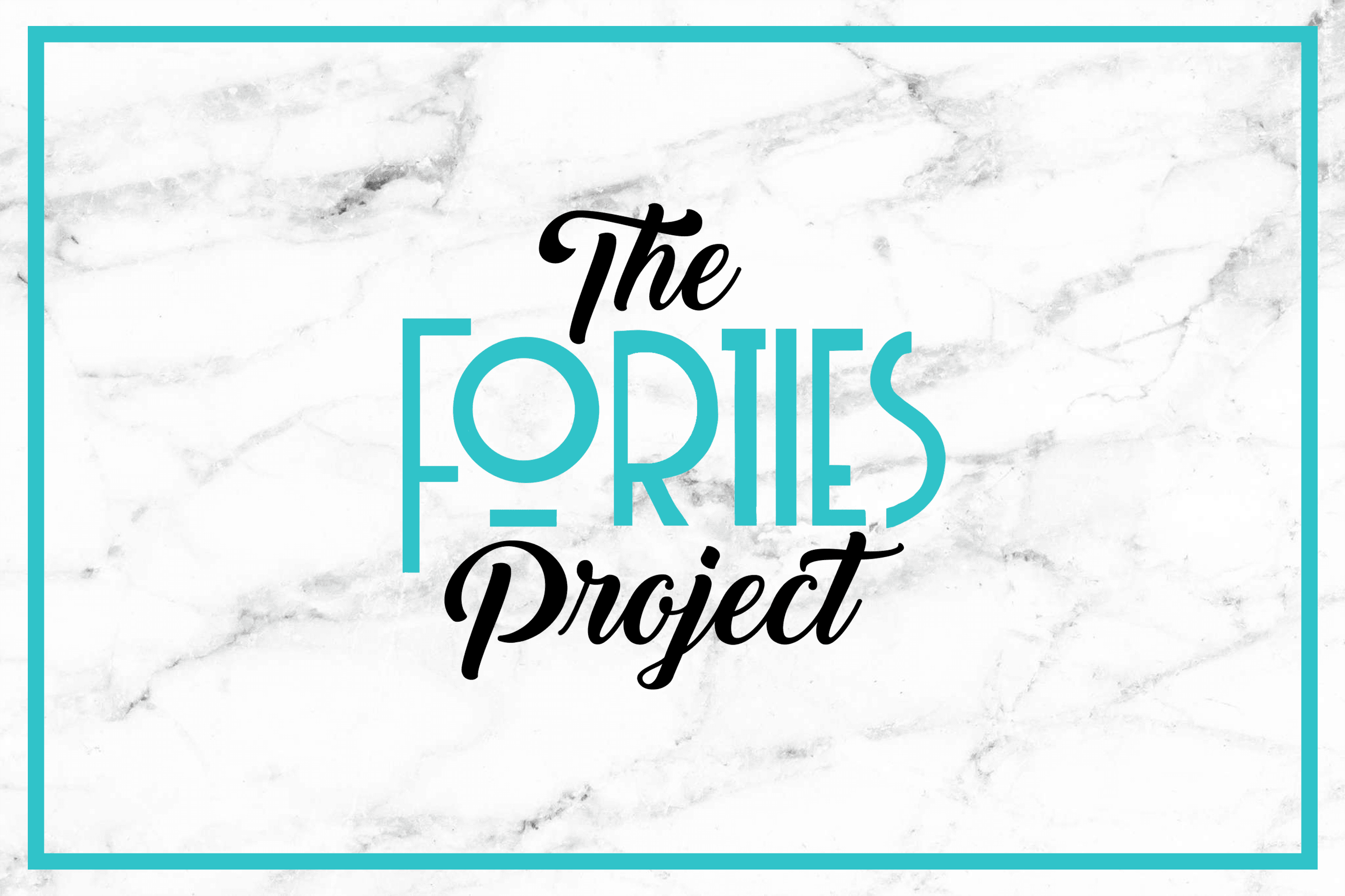 The Forties Project Logo designed by Carrboro Creative