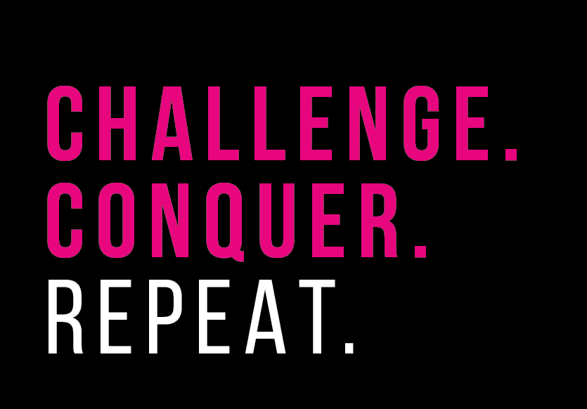Challenge Conquer Repeat Logo