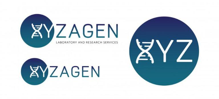 Xyzagen Logos on White Background