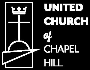 United Church of Chapel Hill White Logo Design