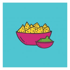 Appetizers design logo