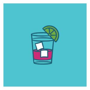 Drinks orange juice icon