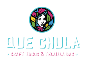 White Que Chula Logo design