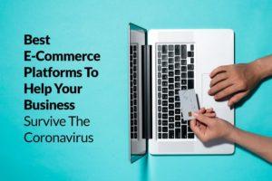 best e commerce platforms on laptop