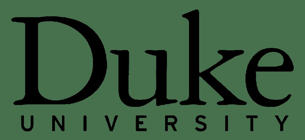 Duke University Logo Black