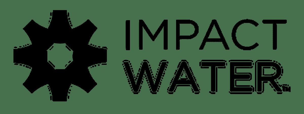 Black Impact Water Logo