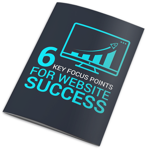 6 key points for website success cover mockup