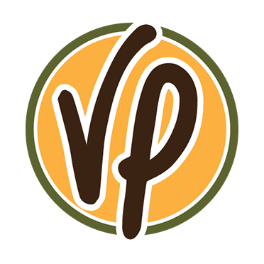 VP Coffee logo with padding