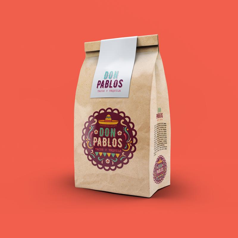 Don Pablos Paperbag Mockup