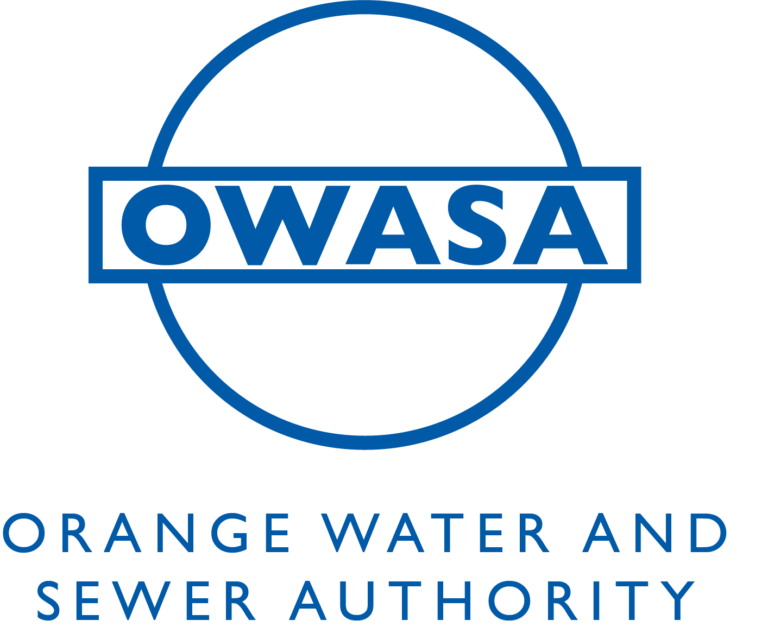 Owasa logo with their name spelled out